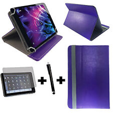 10.1 zoll Tablet Tasche + Folie + Stift Asus Transformer Pad TF101 3in1 Lila 10