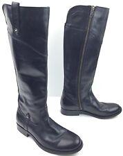 Frye Melissa Button Womens Black Leather Boots 3470110 sz: US 6