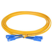 40M SC/UPC-SC/UPC Single Mode SM Duplex Fiber Optic Patch Cord Jumper Cable