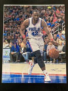 ELTON BRAND Signed Autographed 8x10 Photo Philadelphia 76ers Auto
