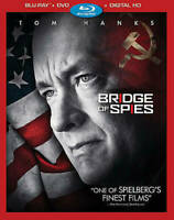 Bridge of Spies (Blu-ray/DVD, 2016, Includes Digital Copy)