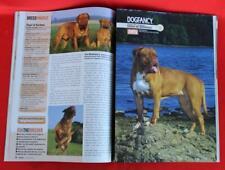 Rare ~ Dogue De Bordeaux Issue ~ Dog Fancy Magazine ~ September 2008
