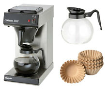 Bartscher Kaffeemaschine Contessa 1000 + 1000 Korbfilter + 2. Glaskanne
