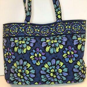 Vera Bradley INDIGO POP East West tote bag, shoulder bag, purse