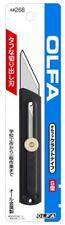 OLFA Craft Hobby knife Stype Slide Type Black all metal 26B  JAPAN