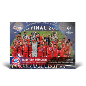 Topps Now UCL - Card 084 - Bayern München - UCL Winners 2019-2020