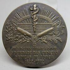 MEDICINE/ Snake/ Sociedade das Ciências Médicas de Lisboa 150 Years Bronze Medal