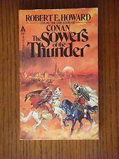 Robert E. Howard - The Sowers of the Thunder - VINTAGE paperback 1st ed. 1979