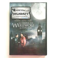 New listing An American Werewolf In London (Dvd, 2012, R) David Naughton (New Sealed)