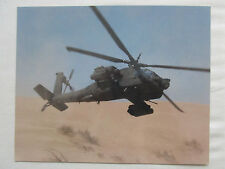 PHOTO MCDONNELL DOUGLAS US ARMY AH-64 APACHE ATTACK HELICOPTER DESERT STORM