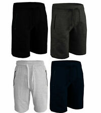 Mens Summer Shorts Pants Elasticated Casual Combat Zip Pockets Jogging Running