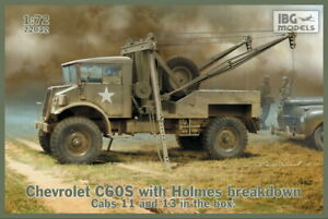 IBG 1/72 Chevrolet C60S with Holmes Breakdown Cab 11 and Cab 13