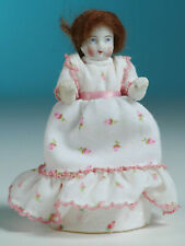 """Vintage Bisque doll / painted eyes / no feet / 5"""""""