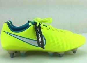 Nike Womens Magista Opus II SG-PRO ACC Soccer Cleats Volt 844220-718 Choose Size