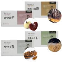 Korean Healthy Chaga/Reishi/Cordyceps/Mulberry Phellinus Linteus Mushrom Tea