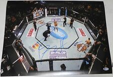 Benson Henderson Signed UFC 16x20 Photo BAS Beckett COA Auto'd Fox 5 v Nate Diaz