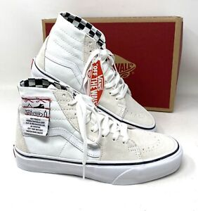 VANS Sk8-Hi Tapered Diy White Suede Women's Size Sneakers VN0A4U1624F