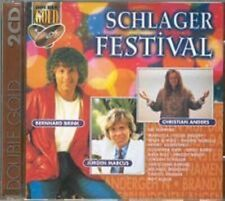 Schlagerfestival (#3720532) Andy Borg, Nadine Norelle, Manfred Morgan, .. [2 CD]