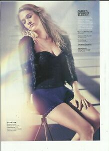 CARRIE UNDERWOOD MAGAZINE CLIPPINGS - LOT #3