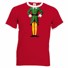 Christmas Graphic Fitted T-Shirts for Men