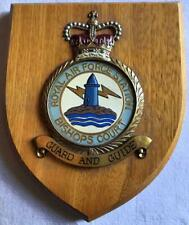 More details for old raf royal air force station bishops court  squadron crest shield plaque x