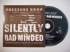 PRESURE DROP feat. CONSTANTINE : SILENTLY BAD MINDED ♦ CD SINGLE PORT GRATUIT ♦
