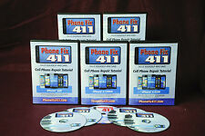 iPhone Repair DIY DVD Set. All the Popular Repairs for iPhone 3GS 4 4s and 5.