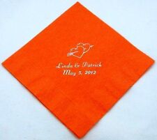 125 Personalized cocktail napkins custom printed baby shower wedding napkins