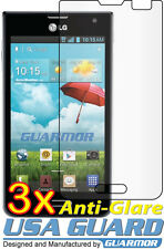 3x Anti-Glare LCD Screen Protector T-Mobile MetroPCS LG Optimus F3 MS659 P659