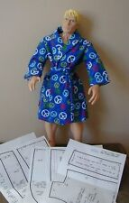 "Shawl Collared Bathrobe Pattern 22MOH07 For 22"" Men of Honor Dolls"