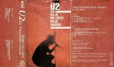 U2 Bajo Un Cielo Rojo Sangre Argentina Cassette 1986