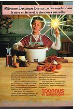 Publicité Advertising 1981 La Mijoteuse Tournus