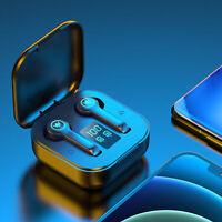 BLUETOOTH 5.1 HEADSET TWS WIRELESS EARPHONES MINI EARBUDS STEREO HEADPHONES