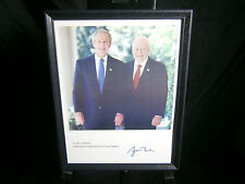 George W Bush President signed Thank You picture appreciation for support print