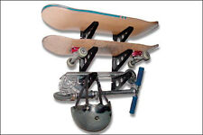 new Skateboard Rack Triple Racks for 3 Skateboards or 3 Longboards or Scooters
