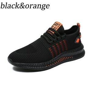 MEN LIGHTWEIGHT SNEAKERS BREATHABLE CASUAL SPORTS RUNNING JOGGING ATHLETIC SHOES