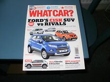 WHAT CAR ?   MAGAZINE   MARCH   2014     ENGLISH MONTHLY