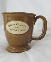 Door County Coffee & Tea Company Stoneware Coffee Mug Wisconsin