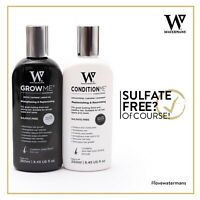 Want Longer Hair Faster? Try Watermans Shampoo & Conditioner - Hair Growth BOOST