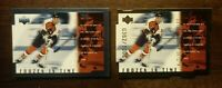 1998-99 Upper Deck Frozen in Time QUANTUM + BASE #FT27 John LeClair NHL FLYERS