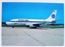 Pan Am Boeing 737-297 Postcard
