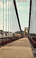 POSTCARD  BRISTOL   Clifton  Entrance to  the  Suspension  Bridge
