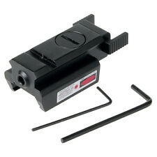 Red Dot Laser sight picatinny Rail Mount 20mm For Pistol Gun Compact hunt