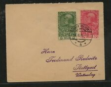Austria    131,133  on  cover  to  Germanyh        MS0210