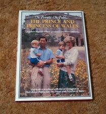 In Private-In Public THE PRINCE AND PRINCESS OF WALES Book Princess Diana