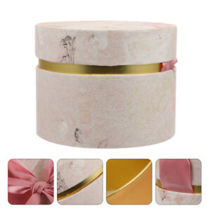 Paper Round Chic Candy Holder Candy Storage Box Souvenir Box for Wedding Party