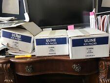 NEW Lot of 63 ULINE 8oz. Ice Packs (S-18256)