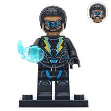 Black Lightning - Marvel Comics DC Realistic Lego Moc Minifigure Gift For Kids