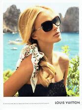 Publicité Advertising 107   2011  lunettes solaires par Louis Vuitton