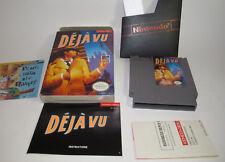 Deja Vu (Nintendo Entertainment System, 1990) NES Complete CIB Excellent Shape